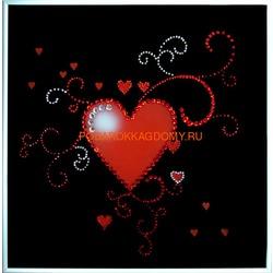 Сердце ажурное