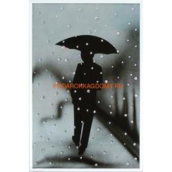 Под дождем