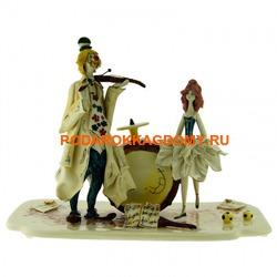 Клоун и балерина